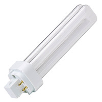 Produktabbildung - Vossloh Kompaktleuchtstofflampe TC-DEL 18 Watt G24q-2 840 Neutralweiss 4000 Kelvin