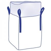 Big Bag 90 x 90 x 110 cm Typ UNI U unbeschichtet, Standardbag