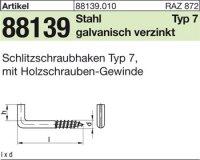 Schlitzschraubhaken 40x5,2x10