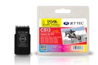 Jet Tec C513 Cyaan, Magenta, Geel 1 stuk(s)