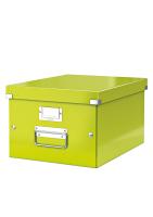 Leitz Click & Store Middelgrote Archiefdoos groen metallic