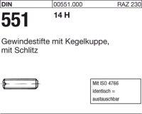 DIN551 M12x60