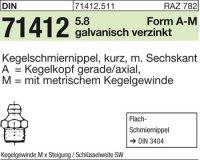 Kegelschmiernippel AM6x1SW7