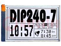 Kijelző: LCD; grafikus; FSTN Positive; 240x128; fekete; LED; PIN:40