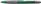 Kugelschreiber Loox, Druckmechanik, M, grün, Farbe des Schaftes: grün-metallic
