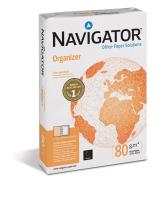 Kopierpapier Navigator Organizer, 4-fach gelocht, A4, 80 g/m²