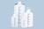 Garrafas/recipientes de reserva con escala