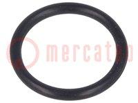 Guarnizione O-ring; NBR; D:1,5mm; Øint:12mm; M16; nero; -30÷120°C