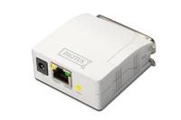 Parallel Print Server. 1-Port 1x RJ45. 1x DB-36-pin male Centronics