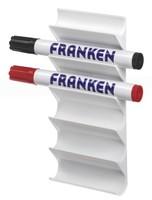 magnetisch stifthouder voor whiteboards, wit
