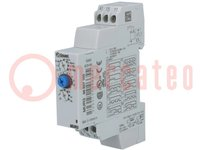 Časové relé; 0,1s÷100h; SPDT; 250VAC/8A; 24÷240VAC; 24÷240VDC