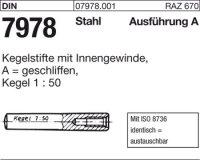Kegelstifte A8x26