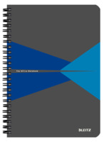 Collegeblock Office, A5, PP, liniert, 90 Blatt, blau