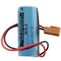 Lithium Batterie CR17450E-R Size A, mit Kabel und Stecker, Fanuc A98L-0031-0012 Batterie, Stecker beachten, vergleichen