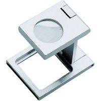 ORION Mini-Standlupe faltbar 5-fache Vergrößerung Bikonvexlinse Durchm. 31,5 mm
