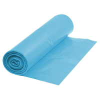 Müllsack 145 Liter 900 x 1100 mm 83 mµ LDPE Kunststoff blau - 100 Stück