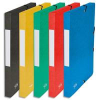 5 ETOILES Bo�te de classement � �lastique en carte lustr�e 7/10, 600g. Dos 25mm. Coloris assortis.