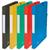 5 ETOILES Boîte de classement à élastique en carte lustrée 7/10, 600g. Dos 25mm. Coloris assortis.