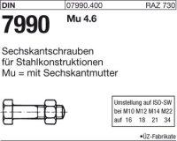 DIN7990 M24x80