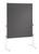 Moderationstafel ECO, 120 x 150 cm, grau/Filz, grau/Filz