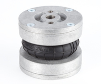Bild für TPM/31122 Balgzylinder (kompakt) d=12inch x 2 Faltenbälge