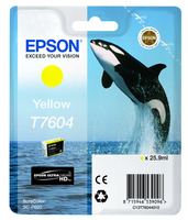 Epson Tintenpatrone UltraChrome T7604 Yellow