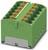 Verteilerblock 32A, 0,2-6qmm, grün PTFIX 12X4-G GN