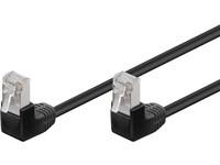 F/UTP CAT5E 5M BLACK PVCOuter shield: foil screening90° Angled, PVC, 4x2xAWG 26 CCA, 0.25 Meter STP CAT5E
