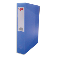 5 ETOILES Boîte de classement dos de 6 cm, en polypropylène 7/10e bleu