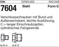 Verschlußschrauben CM8x1