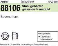 Kalei-Setzmuttern M6/0,9