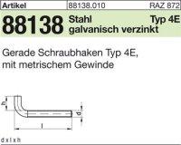Ger. Schraubhaken M8x60x18