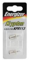 Energizer Krypton Glühlampe KPR113 4,8V-0,75A Stecksockel - 2er Blister