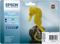 Epson Tintenpatrone Multipack T0487 (Seepferdchen)