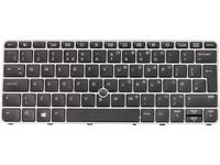 Keyboard (UK) BacklitW/Point Stick Tastatur/Maus