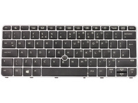 Keyboard (UK) Backlit W/Point Stick Tastatur/Maus