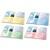 ESSELTE Sachet 5 chemises double poche incolore en PP 18/100e. 2 pochettes feuilles A4 ou 1 feuille A3.