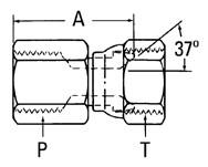 AEROQUIP 2242-4-4S