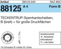 TECKENTRUP-Sperrkants. B6x18,2x1,4