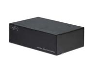 Video Splitter 1 PC. 4 Monitor 350 MHz.HDSUB 15/M - 4 X HDSUB 15/F Extender/Splitter