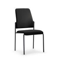 Krzesło dla gości GOAL, szkielet na 4 nogach, opak. 2 szt.
