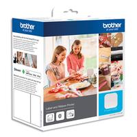 BROTHER Etiqueteuse bureautique Bluetooth Le Cube PT-P300BT packaging loisir créatif