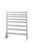 Regály na otvorené boxy bez boxov, šírka 1030mm