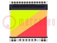 Beleuchtung; Verwendung: EADOGS102; LED; 39x41x2,7mm