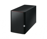 Buffalo LinkStation 220 NAS 6TB NAS 2x 3TB HDD 1x Gigabit RAID 0/1 Bild 1