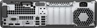 HP EliteDesk 800 G5 Intel® 9de generatie Core™ i5 9500 8 GB DDR4-SDRAM 256 GB SSD SFF Zwart, Zilver PC Windows 10 Pro