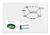 Be!Board Große Glas-Magnettafel / Whiteboard, 90x60 cm, super-weiß