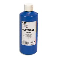 ART PLUS Acrylique brillante 500ml Bleu outremer