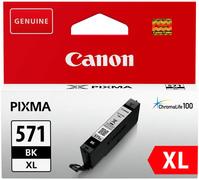 CANON Tintenpatrone XL schwarz CLI-571XLBK PIXMA MG5750 11ml
