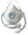 Atemschutzmaske FFP3 R D mit Klimaventil Air Plus